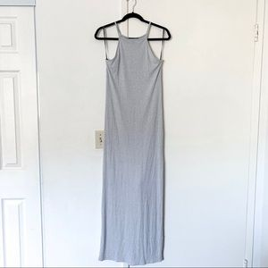 Forever 21 Ribbed Maxi Dress with Side Slit